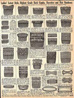 Vintage Sears Catalog 1912 by HA! Designs - Artbyheather, via Flickr