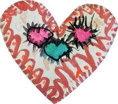 paint hearts