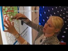 How to paint stretch ceiling with chalk paint and Royal Design Studio stencils. Architectural Digest Home design Show 2014. - YouTube