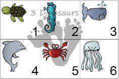 pre school, calendar piec, calend number, clever craft, school printabl