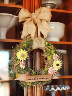 Dress Up Any Space With a Wreath - Our 45 Favorite Fall Decorating Ideas on HGTV