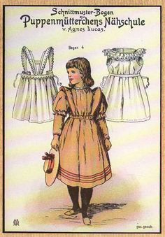 Antique patterns for dolls (many for Bleuette)