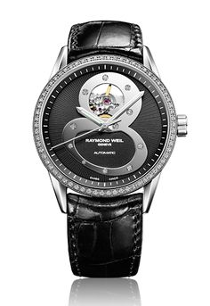 Freelancer Black 8 Watch, Limited Edition by RAYMOND WEIL Genève Luxury Watches #luxurywatch #raymondweil Raymond-Weil. Swiss Luxury Watchmakers watches #horlogerie @calibrelondon
