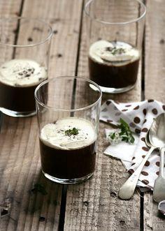Crema de chocolate y mascarpone