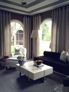 Greensboro Adamsleigh Showhouse  Sunroom with Eric Cohler and Pearson