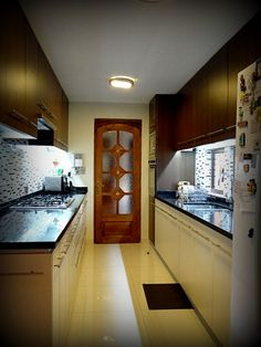 Cocina cafe y beige on pinterest 16 pins - Muebles de cocina metalicos ...