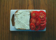 Tomato sandwiches!!!! My favorite in the summer!