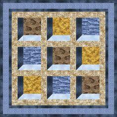 ~free pattern~ Nature's Windows, at Benartex