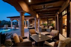 Great place to host guests outside.