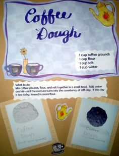 Coffee Playdough