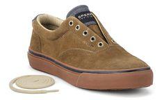 Sperry Top-sider Men's Striper Laceless CVO Slip-On Sneaker