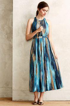 Rivier Midi Dress #anthropologie
