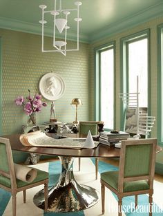 Dining room -- love the chairs