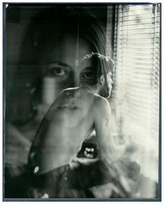 Adam Goldberg   brilliant   double exposure   fine art photography   mood   look   think   ponder   window