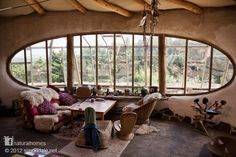 Beautiful windows in natural homes around the world illustrating some of the patterns from 'A Pattern Language'.