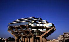 Geisel Library, UCSD, La Jolla