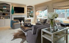 Eclectic Family Room Design, Pictures, Remodel, Decor and Ideas - page 4