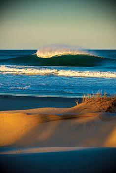 blue waves, blue shadowy dunes