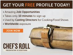 Chef's, now you have no excuse not to get on Chef's Roll with our new FREE option!