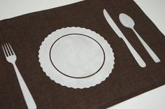 printable for freezerpaper stenciled place mats