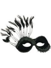 Black Persuasion Masquerade Mask-Party City