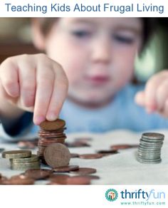 This is a guide about teaching your kids about frugal living. Living a frugal lifestyle is much easier if you actively teach your children to be frugal too. Teaching them about frugal living will also help them when they are older.
