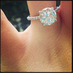 dream ring, diamond rings, color, weddings, future husband, dream engagement rings, wedding rings, diamond bands, the band
