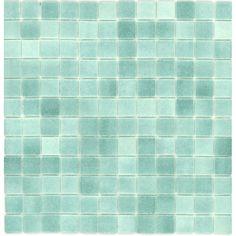 Sea glass tile for the bathroom
