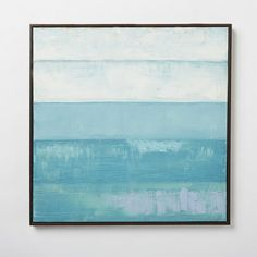 An easy way to brighten a bare wall, the Color Study Painting is inspired by 20th century abstract impressionist art.
