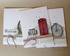 Crafty Girl Designs: Watercolored Trio