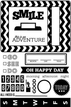 Oh Happy Day Clear Stamps by Studio Calico - Two Peas in a Bucket