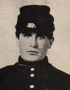 William McKinley, Union Army (via Ohio) during the Civil War. McKinley was one of 5 Civil War vets to become president, and chronologically the last.