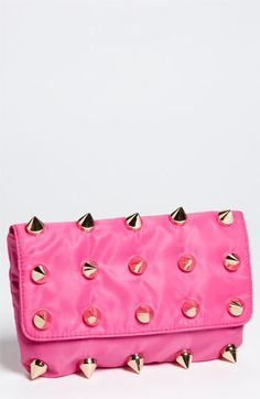 really cute  Deux Lux 'Empire' Nylon Clutch | Nordstrom