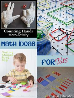 DIY Resources for Math fun with kids