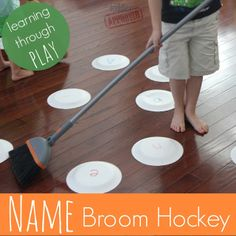 Toddler Approved!: Name Broom Hockey