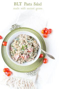 BLT Pasta Salad | chocolateandcarrots.com