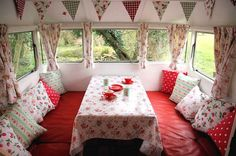 vintage trailers, pillow, teardrop campers, inspiration, camping