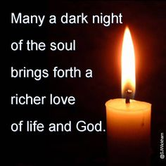 st john of the cross dark night of the soul | when the soul enters the dark night it brings these kinds of love love ...
