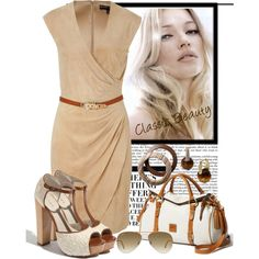 Classic Beauty., created by irishrose1 on Polyvore