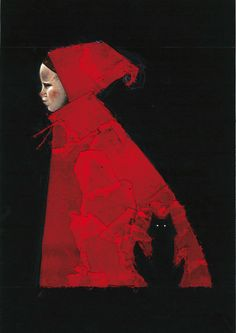 little red, red riding hood, hoods, red ride, luca galvani, brother grimm, ride hood, grimm brothers, watercolor pencils