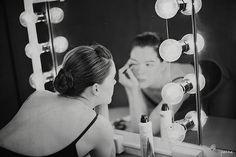 Hollywood style mirror