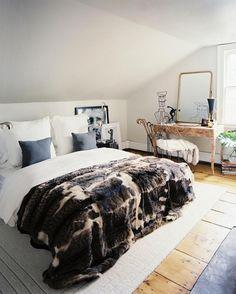 #fur#bedspread