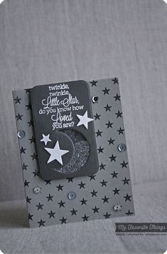 Beautiful Baby, Star Background, Sun Moon & Stars Die-namics - Keisha Campbell #mftstamps