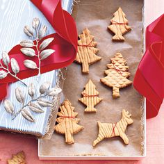 Martha Stewart's Best Christmas Cookies- Every year in the beginning of December, we engage in the time-honored tradition of cookie baking. Fill your house with the comforting scent of baked goods and wow your friends and family with these exceptional Christmas cookie recipes from Martha Stewart.
