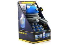 Blue Dalek - Talking Plush #NeatoPinToWin