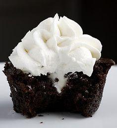 black magic cream filled cupcakes
