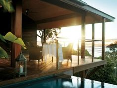 Qualia boutique hotel on the Great Barrier Reef