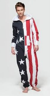 Onepiece stars and stripes american flag onesie. You need this @kruark87