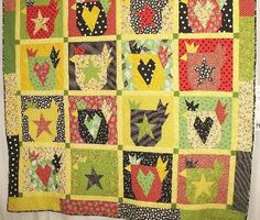 chicken quilt - love it