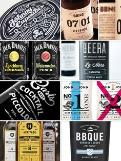 packaging design trend / hipsterism